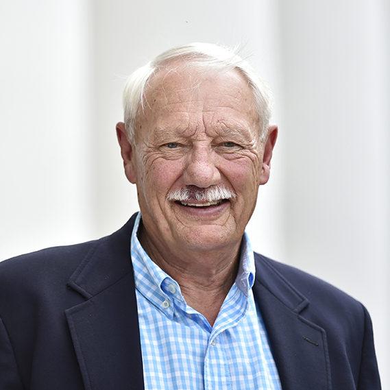 John Kramer, Emeritus Professor of Sociology and Criminology. Photographed Thursday March 23, 2017. [Herald-Tribune staff photo / Thomas Bender]