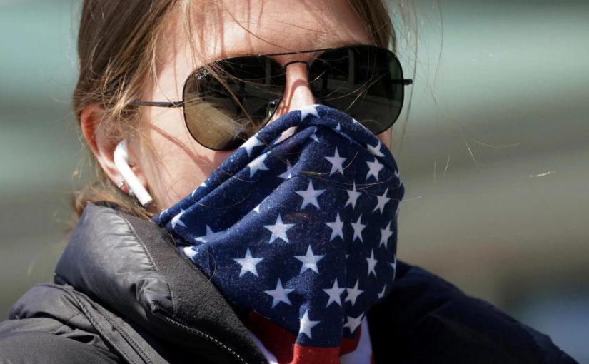 Coronavirus pits anti-mask laws against public health